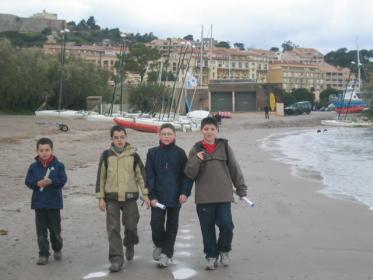 Promenades sur  la plage