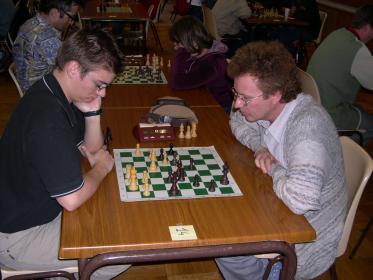 Ronde 2 adversaire difficile pour Michael