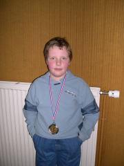 Le vainqueur du tournoi Marc de  St Cyr.