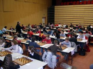 La salle du tournoi jeunes