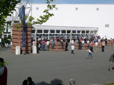 L'entrée du parc des expositions de la Roche sur Yon