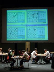 Moment fort de la semaine Grégoire joue à la table 1