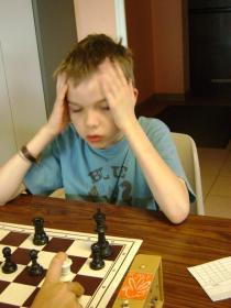 Anatole en pleine concentration