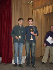 Grégoire 1er du tournoi devant Llewellyn