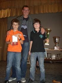 3ème du challenge famille (Victor, Arthur, Eric)