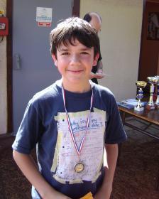 Médaille d'encouragement à Samuel