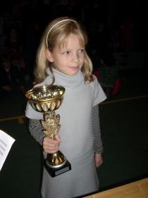 Alexia championne du loiret pupille