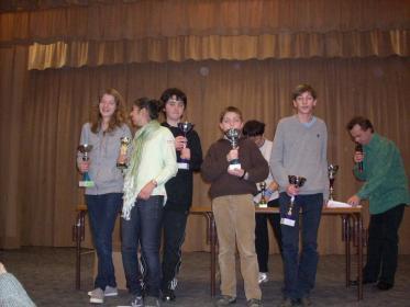 Les vainqueurs des catégories collèges