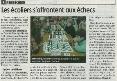 Article la REP du 01/02/2012