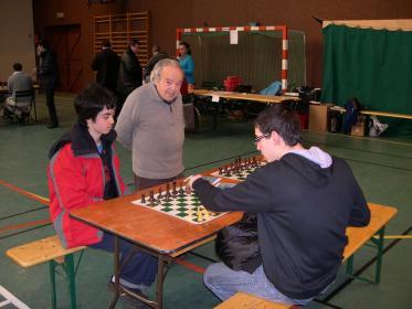 Serge coatch ses élèves