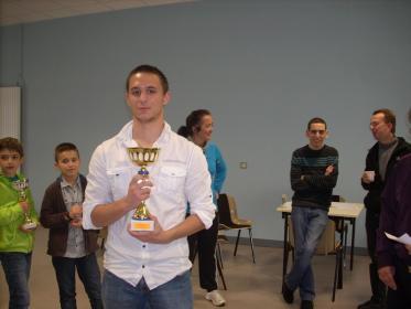 Ivan vainqueur de l'open B
