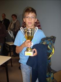 Grégoire 3ème du tournoi