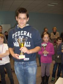 Flavien 2ème du tournoi