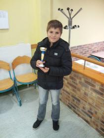 Raphael vice champion du Loiret pupilles
